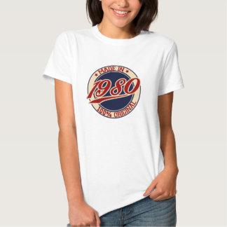 Fait en 1980 t-shirt