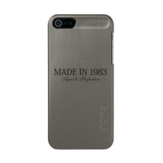 Fait en 1983 coque iPhone 5 incipio feather® shine