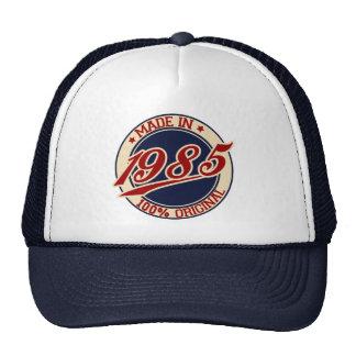 Fait en 1985 casquette de camionneur