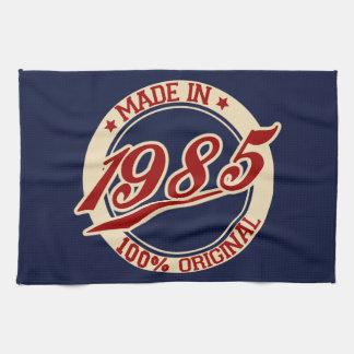 Fait en 1985 serviettes pour les mains