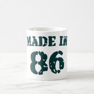 Fait en 1986 mug
