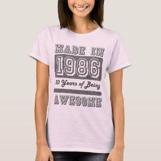 Fait en 1986 t-shirt
