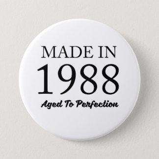 Fait en 1988 badges