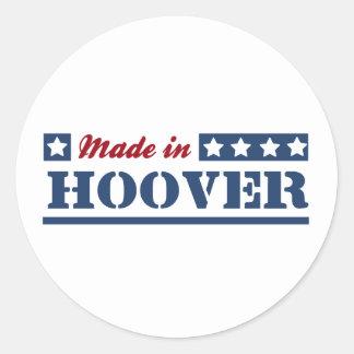Fait en Hoover Adhésifs Ronds