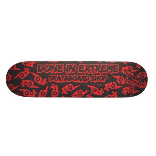 Fait en planche à roulettes extrême de magasin skateboards cutomisables