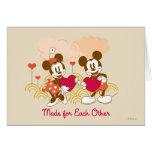 Fait l'un pour l'autre cartes de vœux