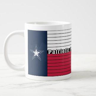 Faite américaine, le Texas fier ! Tasse enorme