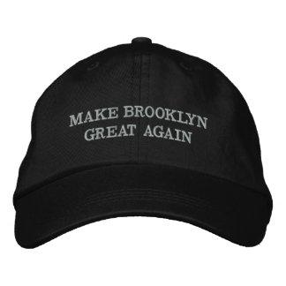 Faites à Brooklyn le grand encore casquette