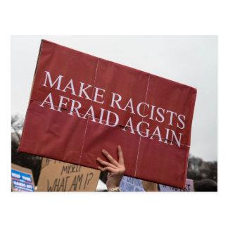 Faites à des racistes encore la carte postale