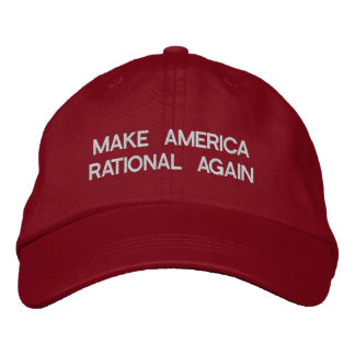 Faites à l'Amérique encore le casquette rationnel