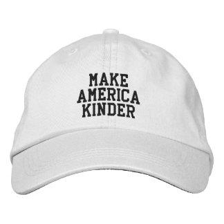 """""""Faites à l'Amérique"""" un casquette plus aimable"""