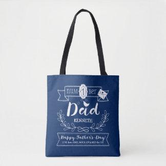 Faites à votre propre papa de no. 1 de fête des sac