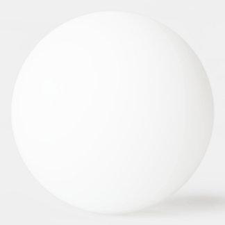 Faites à votre propre une étoile faite sur balle de ping pong