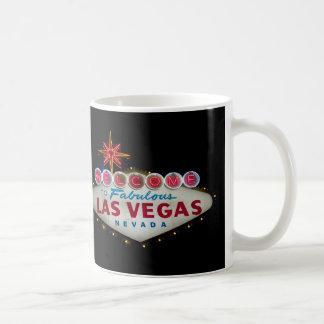 Faites bon accueil à Las Vegas fabuleux Nevada à Mug Blanc