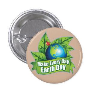 Faites chaque jour de la terre de jour badges