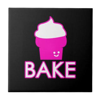 Faites - conception de petit gâteau - le texte petit carreau carré