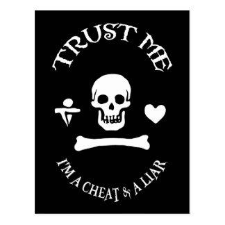 Faites confiance au pirate carte postale