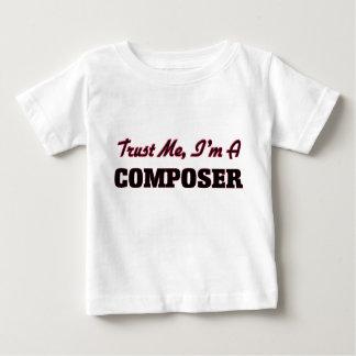 Faites confiance que je je suis un compositeur t-shirt pour bébé