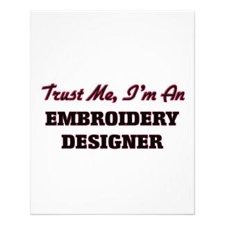 Faites confiance que je je suis un concepteur de tract personnalisé