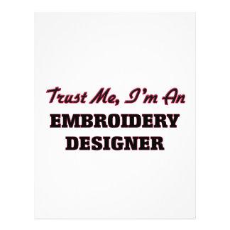 Faites confiance que je je suis un concepteur de prospectus personnalisés