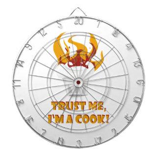 Faites confiance que je je suis un cuisinier ! jeu de fléchettes