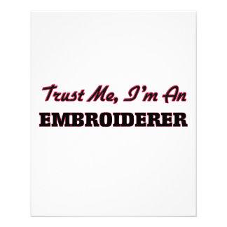 Faites confiance que je je suis un Embroiderer Prospectus