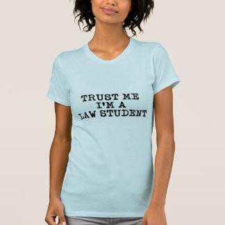 Faites confiance que je je suis un étudiant en t-shirt