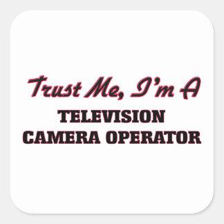 Faites confiance que je je suis un opérateur de sticker carré