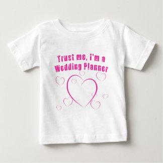 Faites confiance que je je suis un wedding planner t-shirts