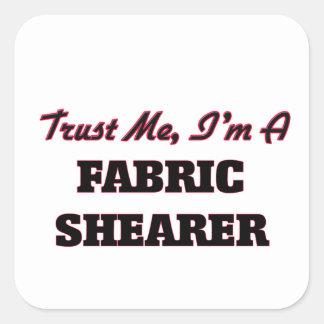 Faites confiance que je je suis une haveuse de sticker carré