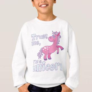 faites- confiancemoi i´m une licorne sweatshirt