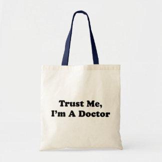 Faites- confiancemoi, je suis un docteur sac en toile budget