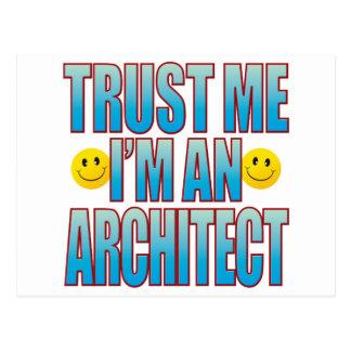 Faites- confiancemoi la vie B d'architecte Carte Postale