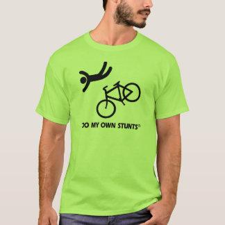 Faites du vélo mes propres cascades t-shirt