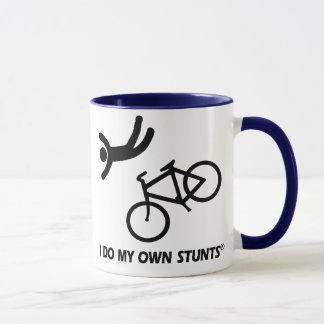 Faites du vélo mes propres cascades tasses