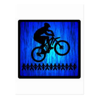 Faites du vélo vos pieds carte postale