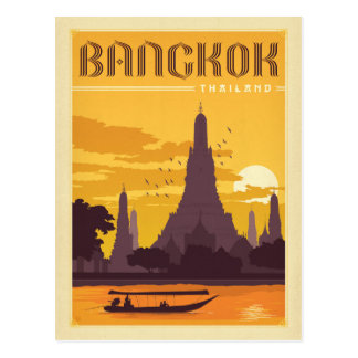 Faites gagner la date | Bangkok, Thaïlande Cartes Postales