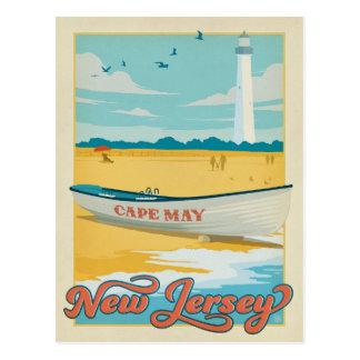 Faites gagner la date | Cape May, NJ Carte Postale