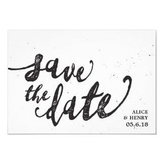 Faites gagner la date faire-part simple et élégant