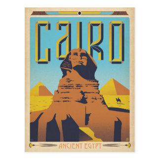Faites gagner la date | le Caire, Egypte Carte Postale