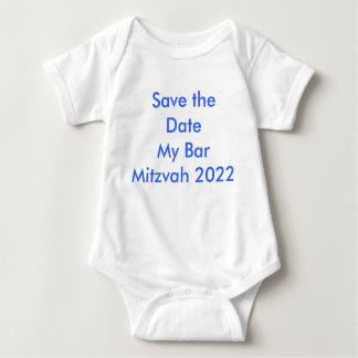 Faites gagner la date ma barre Mitzvah 2022 T-shirts