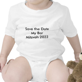 Faites gagner la date ma barre Mitzvah 2023 T-shirts