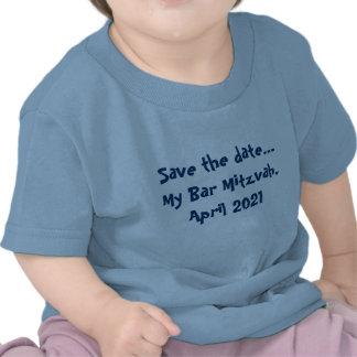 Faites gagner la date… Ma barre Mitzvah, avril 202 T-shirts