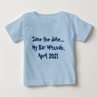 Faites gagner la date… Ma barre Mitzvah, avril T-shirt