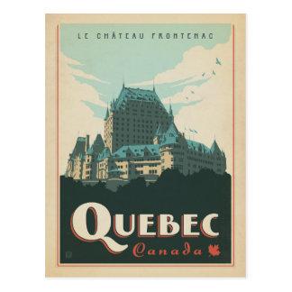Faites gagner la date | Québec, Canada Carte Postale