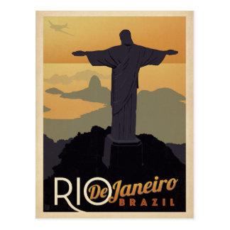 Faites gagner la date | Rio De Janiero, Brésil Carte Postale