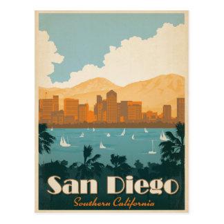 Faites gagner la date | San Diego, CA Carte Postale