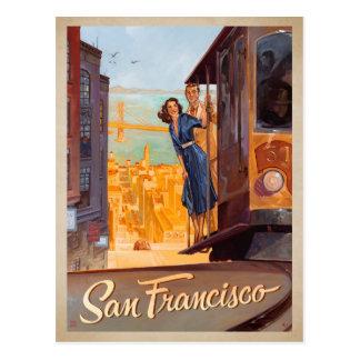 Faites gagner la date | San Francisco, CA - Carte Postale