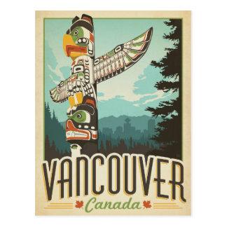 Faites gagner la date | Vancouver, Canada Carte Postale