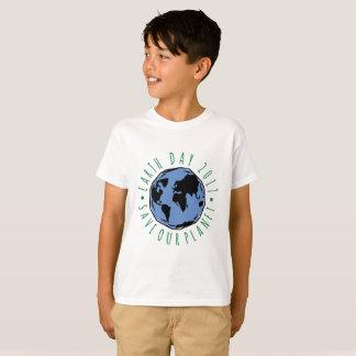 Faites gagner notre jour de la terre de planète t-shirt